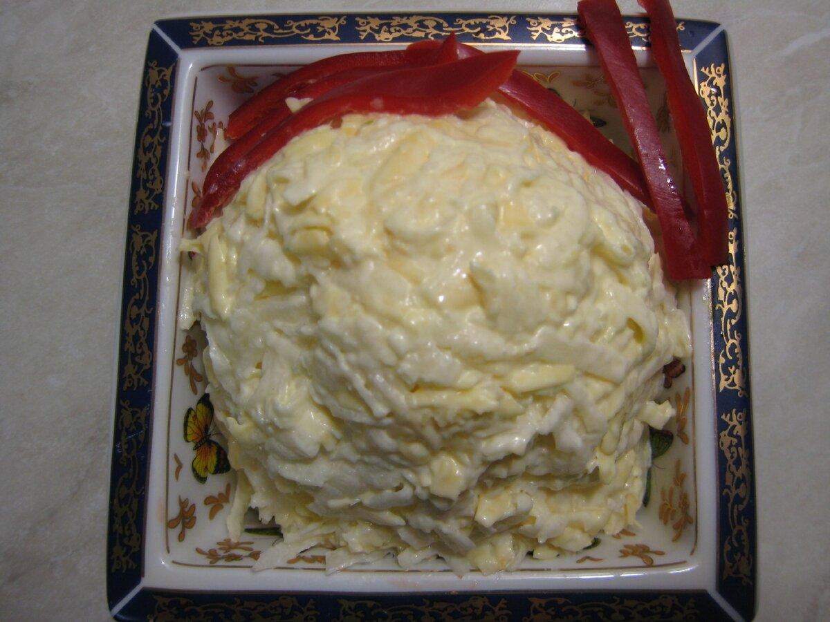 Полезный салат с антивирусным свойством с редькой и чесноком. А ещё это вкусно. Пошаговый рецепт с фото.